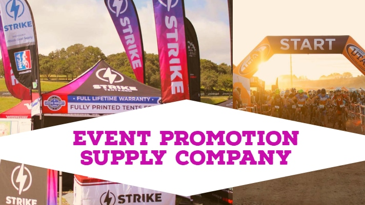 Event Promotion Supply Company (2019 Solution) Lifetime Warranty