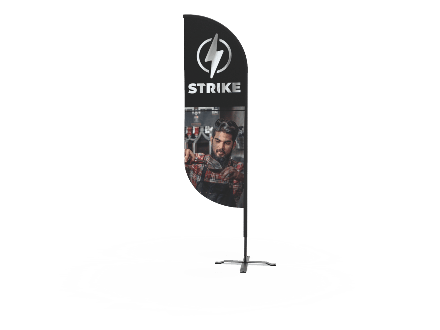 Brewery 8' Feather flag